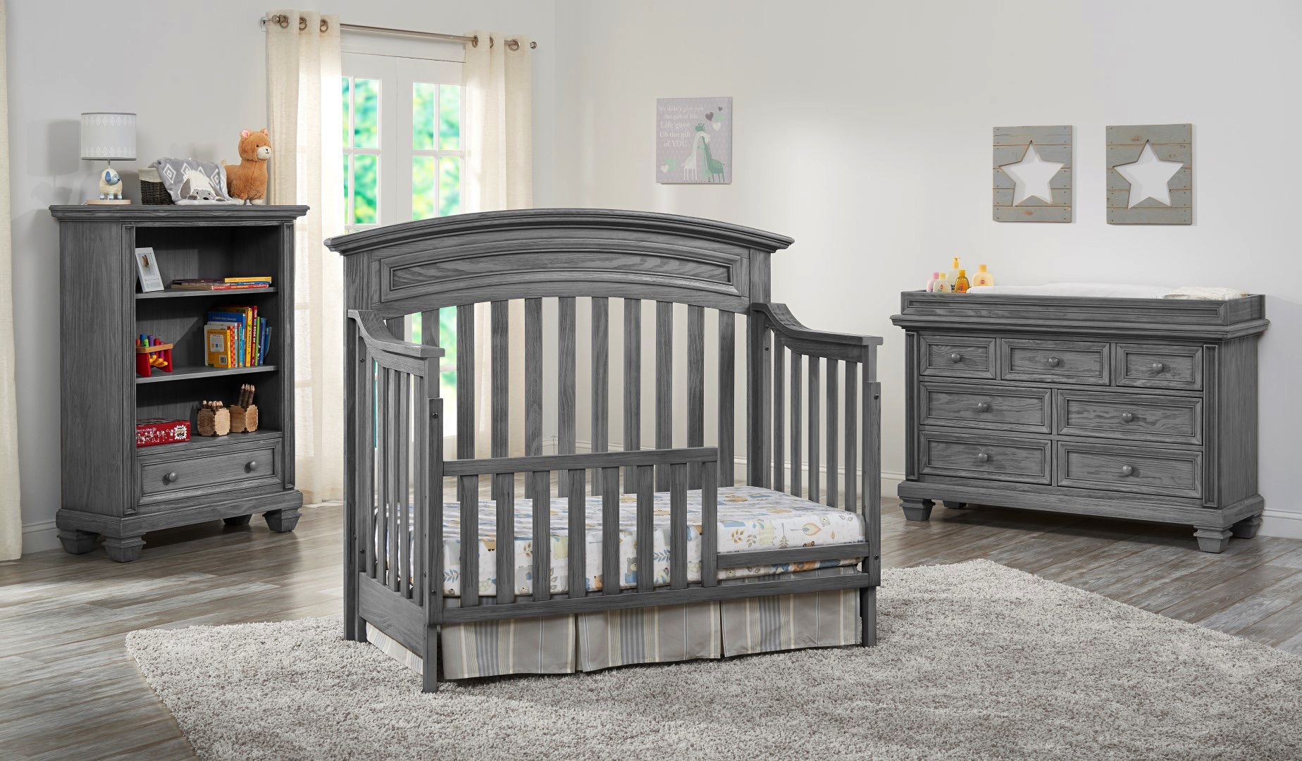 Richmond Brushed Gray Oxford Baby Amp Kids