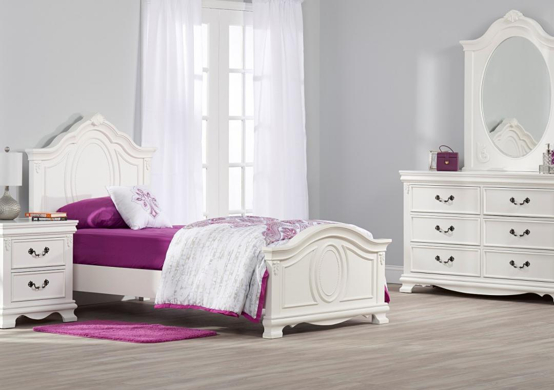 Kids Furniture. Isabelle Twin Bed   White