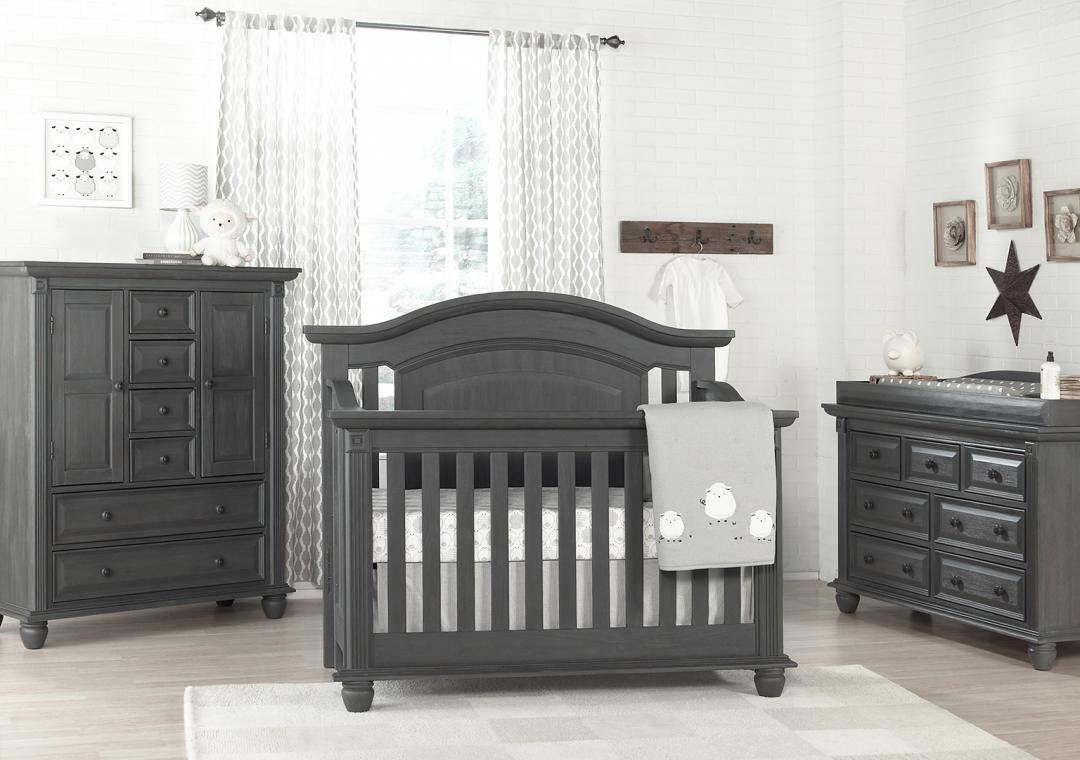 gray nursery furniture. london lane arctic gray nursery furniture r