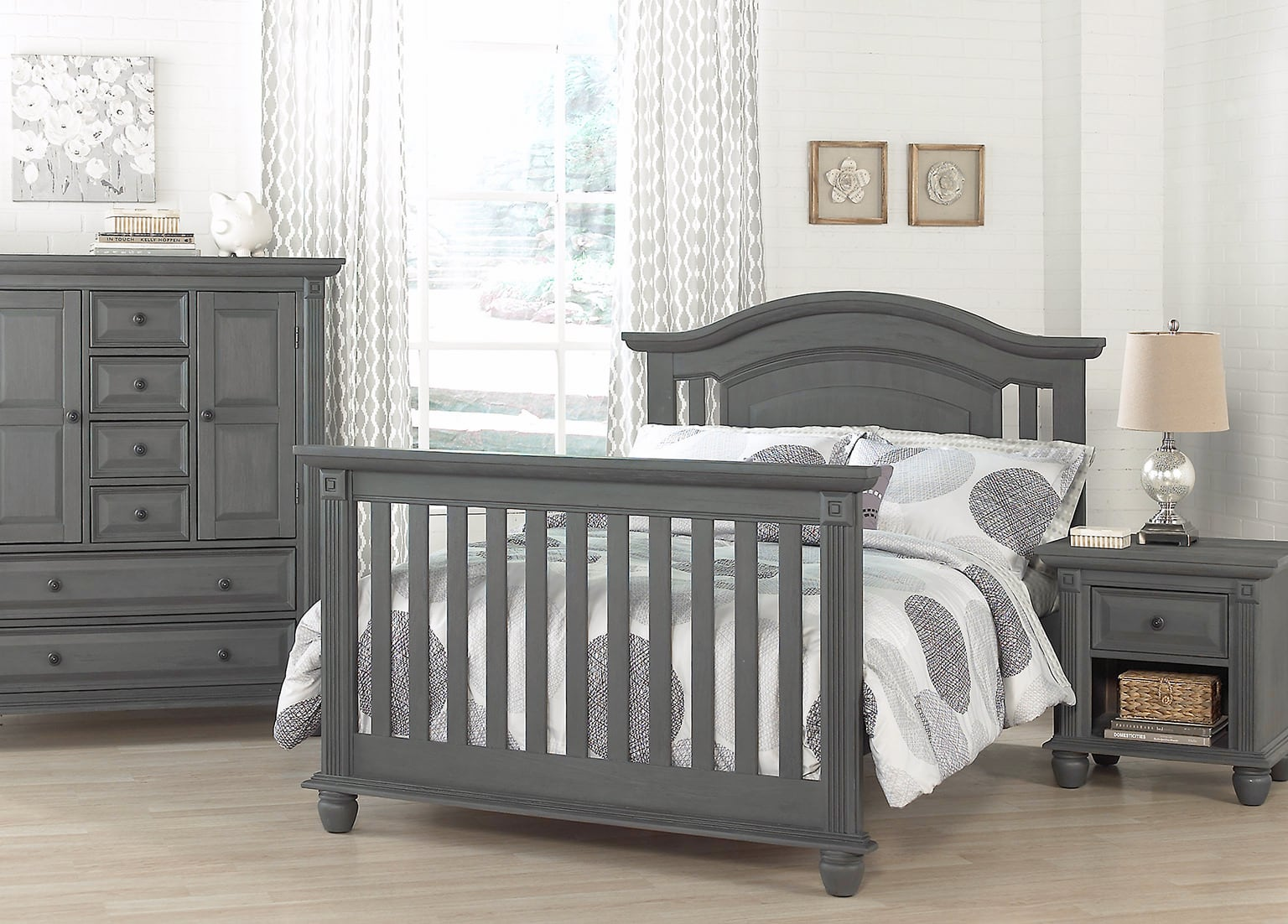 London Lane Arctic Gray Fullbed