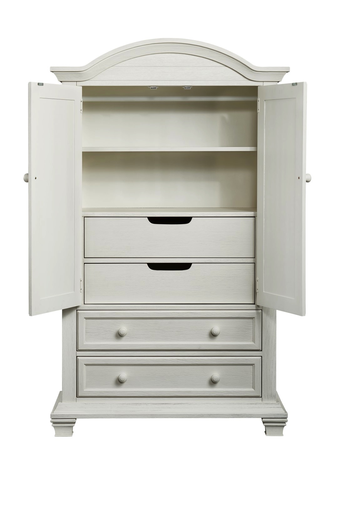 Armoire Cottage Cove Vintage White Oxford Baby Kids