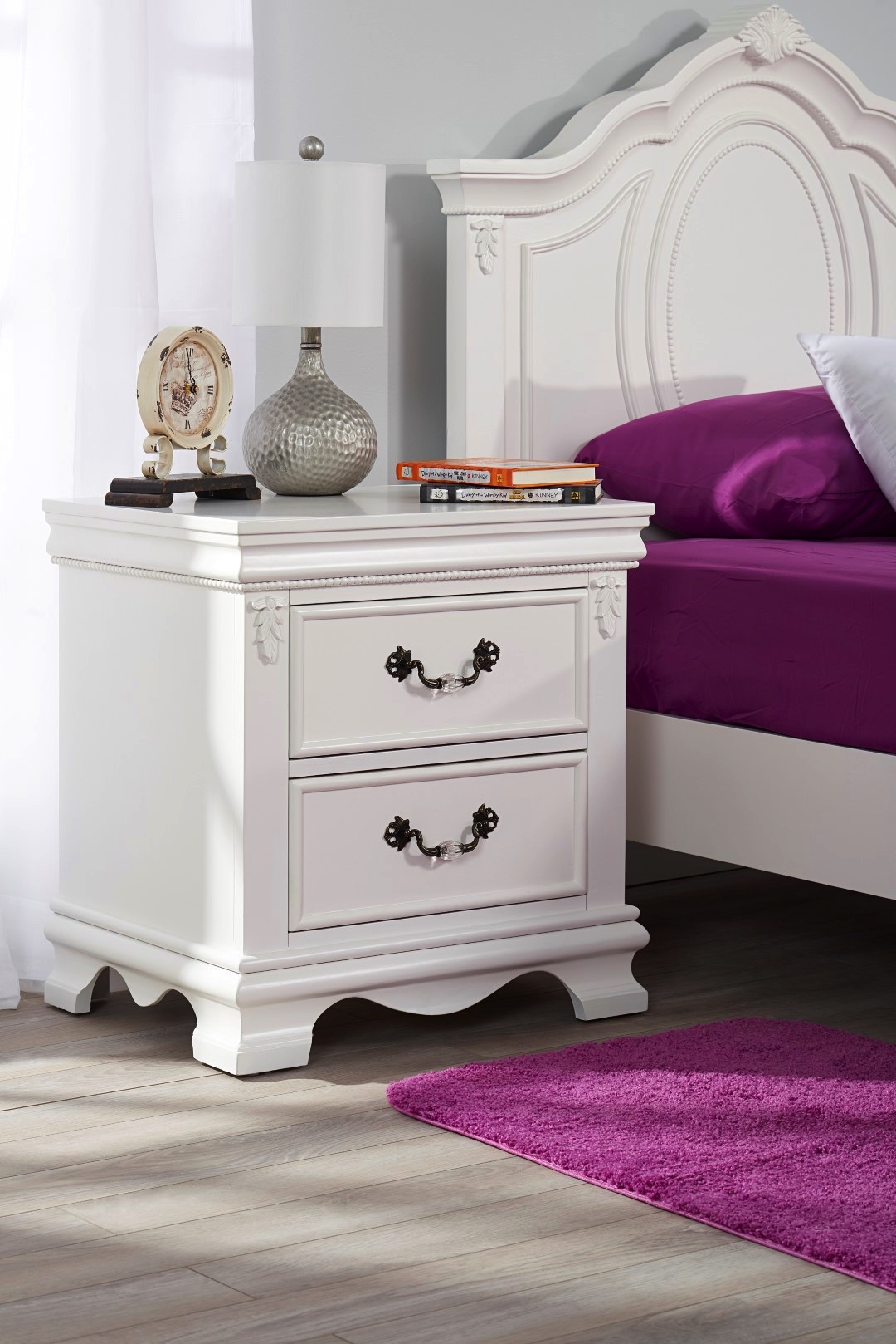 Night Stand Isabelle White Oxford Baby Amp Kids