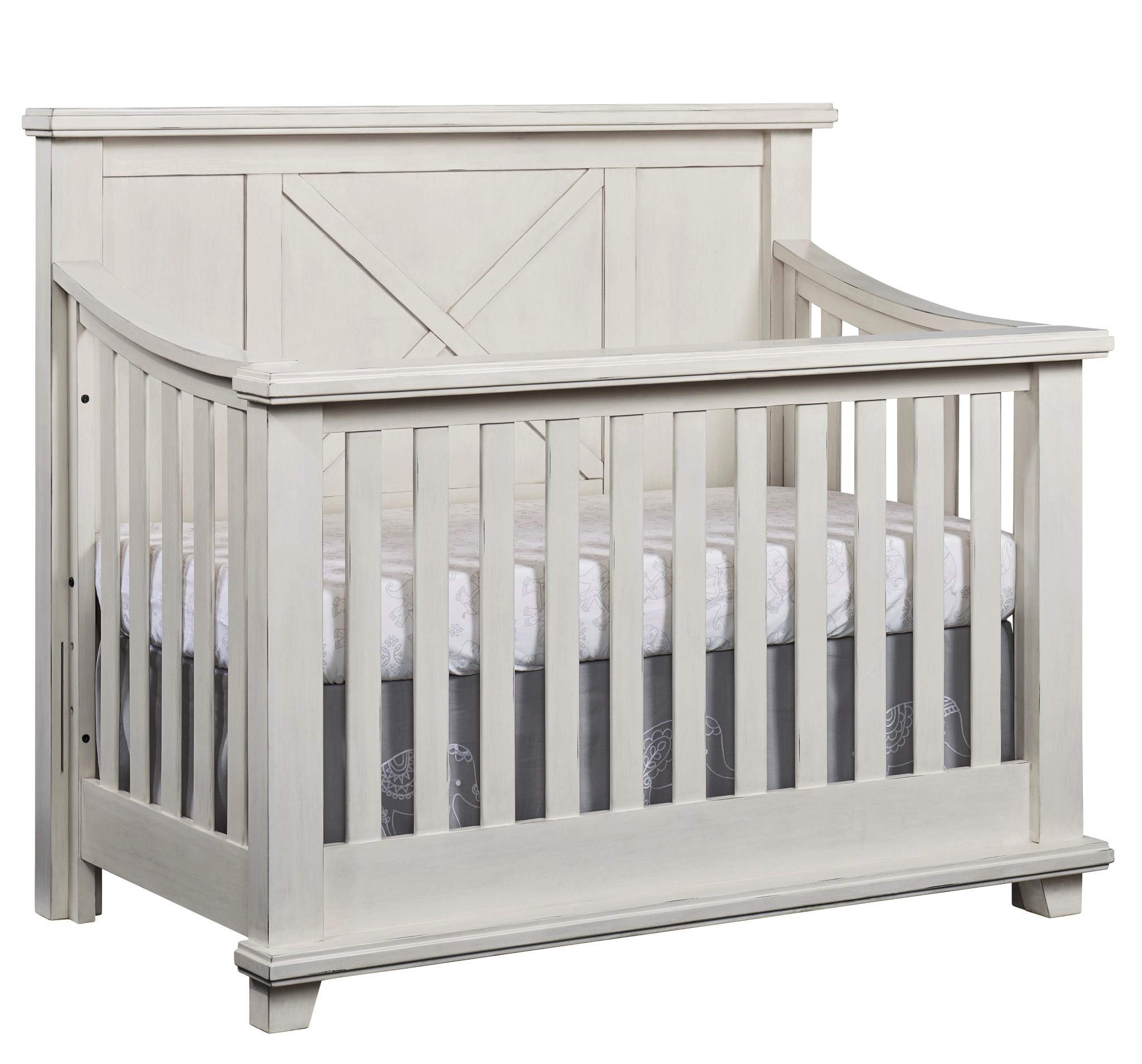 with white franklin cribs n warm kids drawers ben drawer crib langford and chest langord