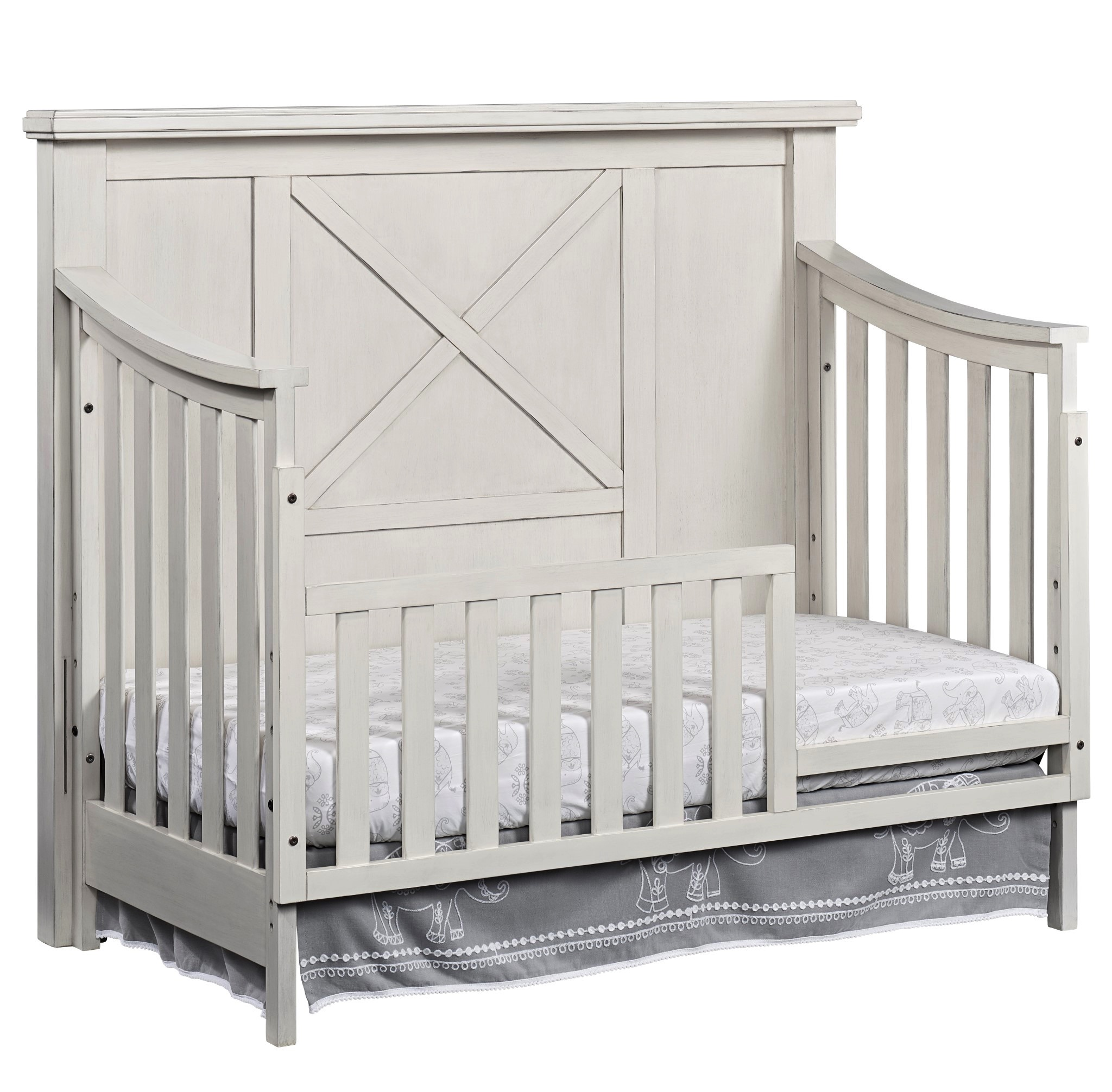 crib dubois and oslo morning in with drawers white pure mist karla products tone convertible