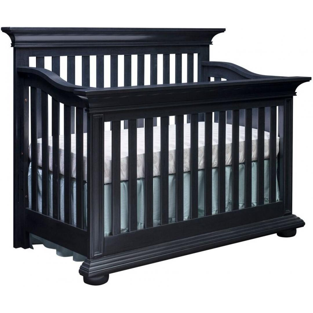 Guard rail harlow navy midnight slate oxford baby kids for Harlowe bed