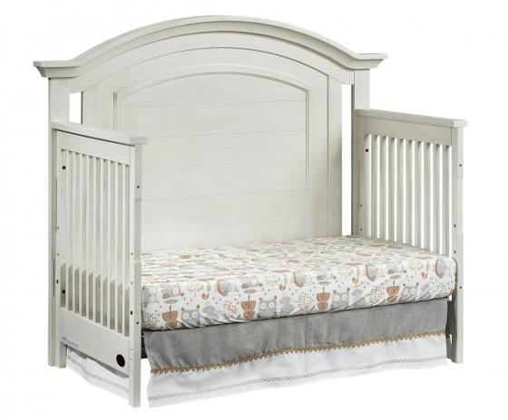 4 In 1 Convertible Crib Cottage Cove Vintage White