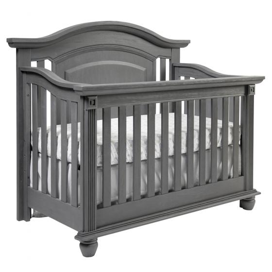 4 In 1 Convertible Crib London Lane Arctic Gray Oxford
