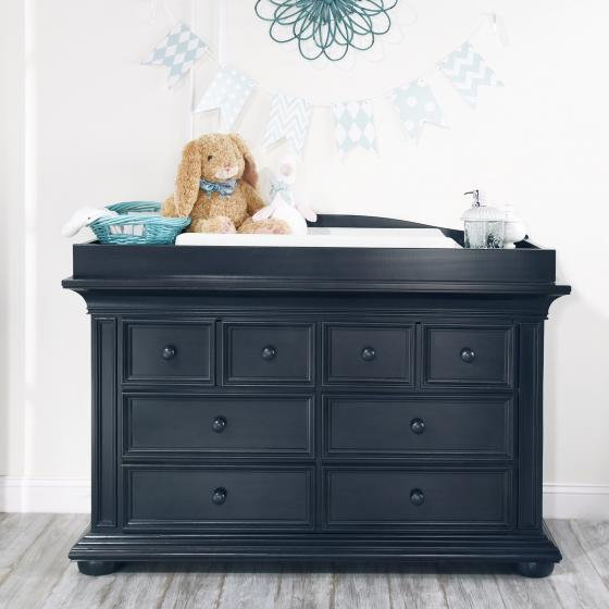 6 Drawer Dresser Harlow Navy Midnight Slate Oxford