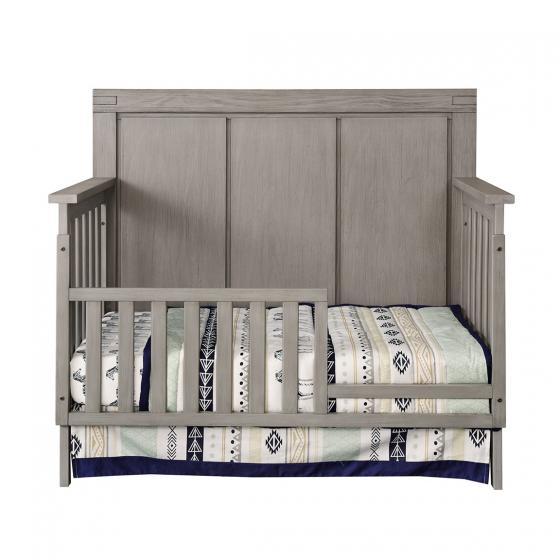 Pier One Baby Furniture: Guard Rail - Piermont Rustic Stonington Gray