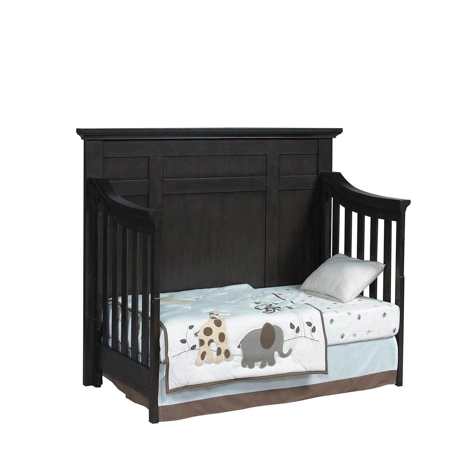 4 In 1 Convertible Crib Dallas Slate Oxford Baby Kids