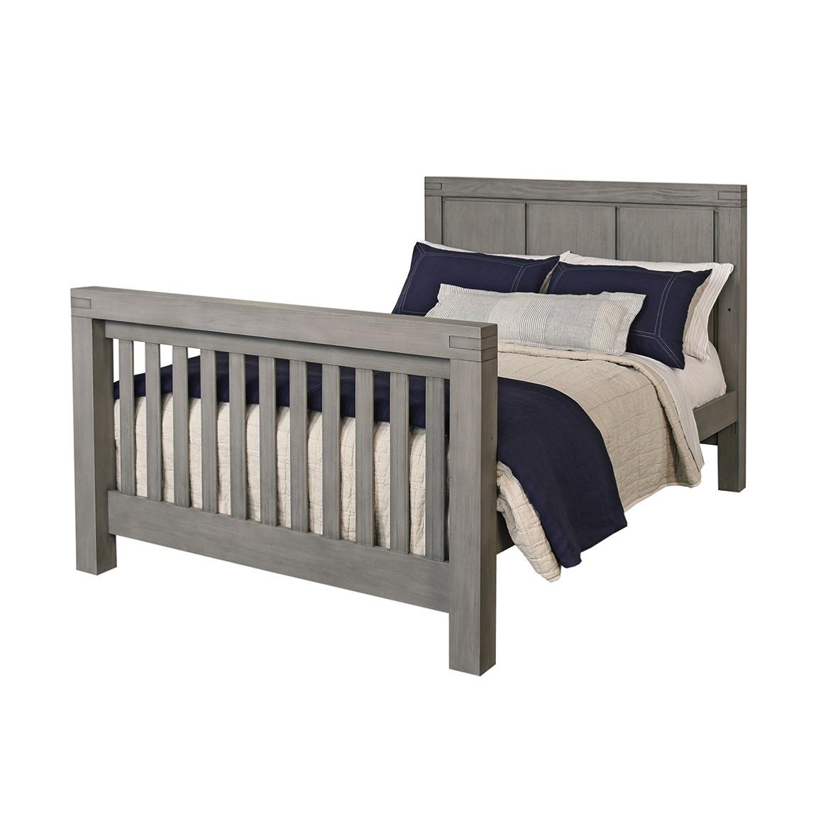4 In 1 Convertible Crib Piermont Rustic Stonington Gray