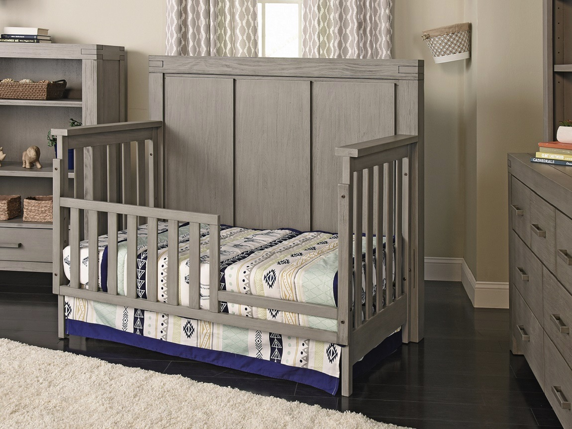 Guard Rail Piermont Rustic Stonington Gray Oxford Baby