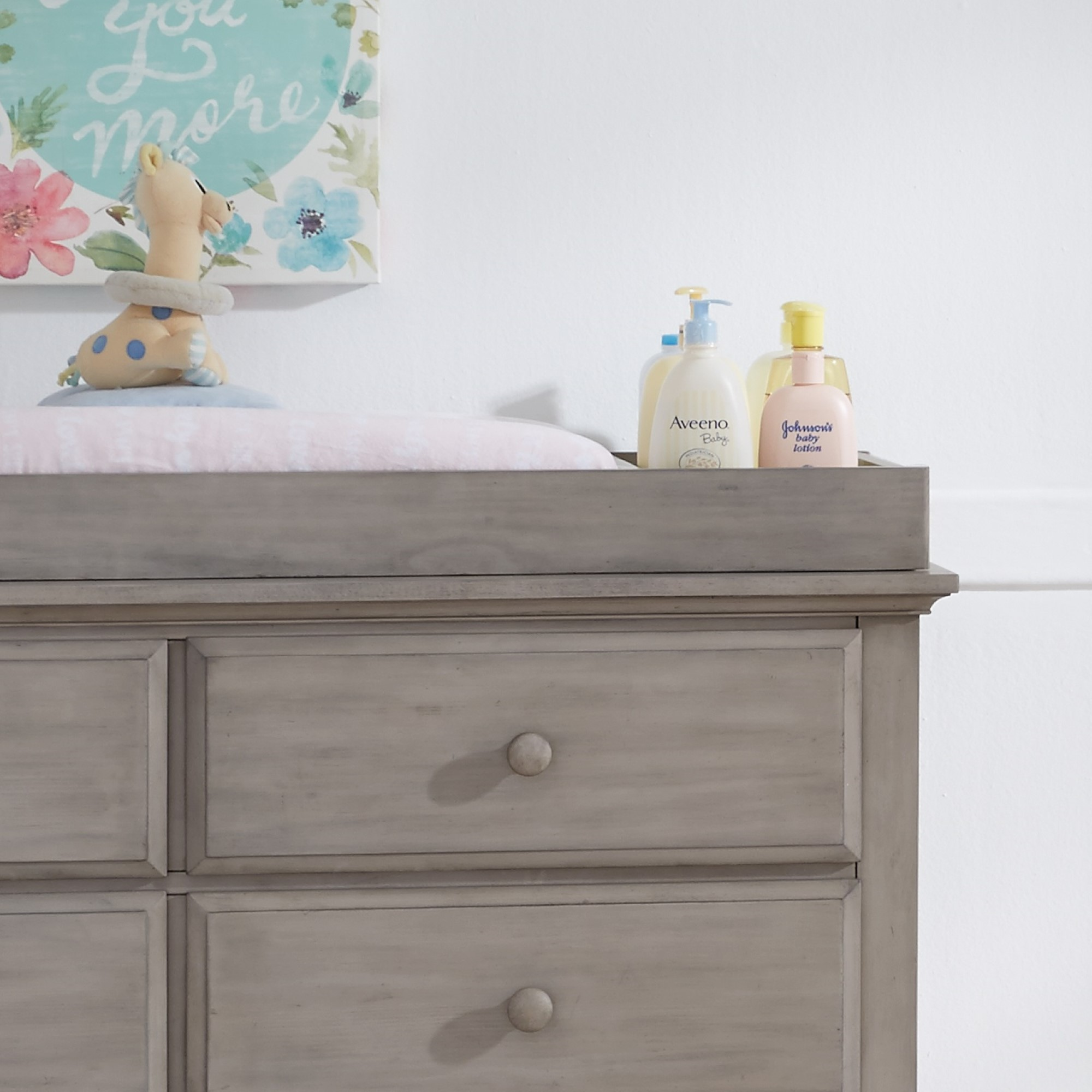 Changing Topper Kenilworth Stone Wash Oxford Baby Amp Kids
