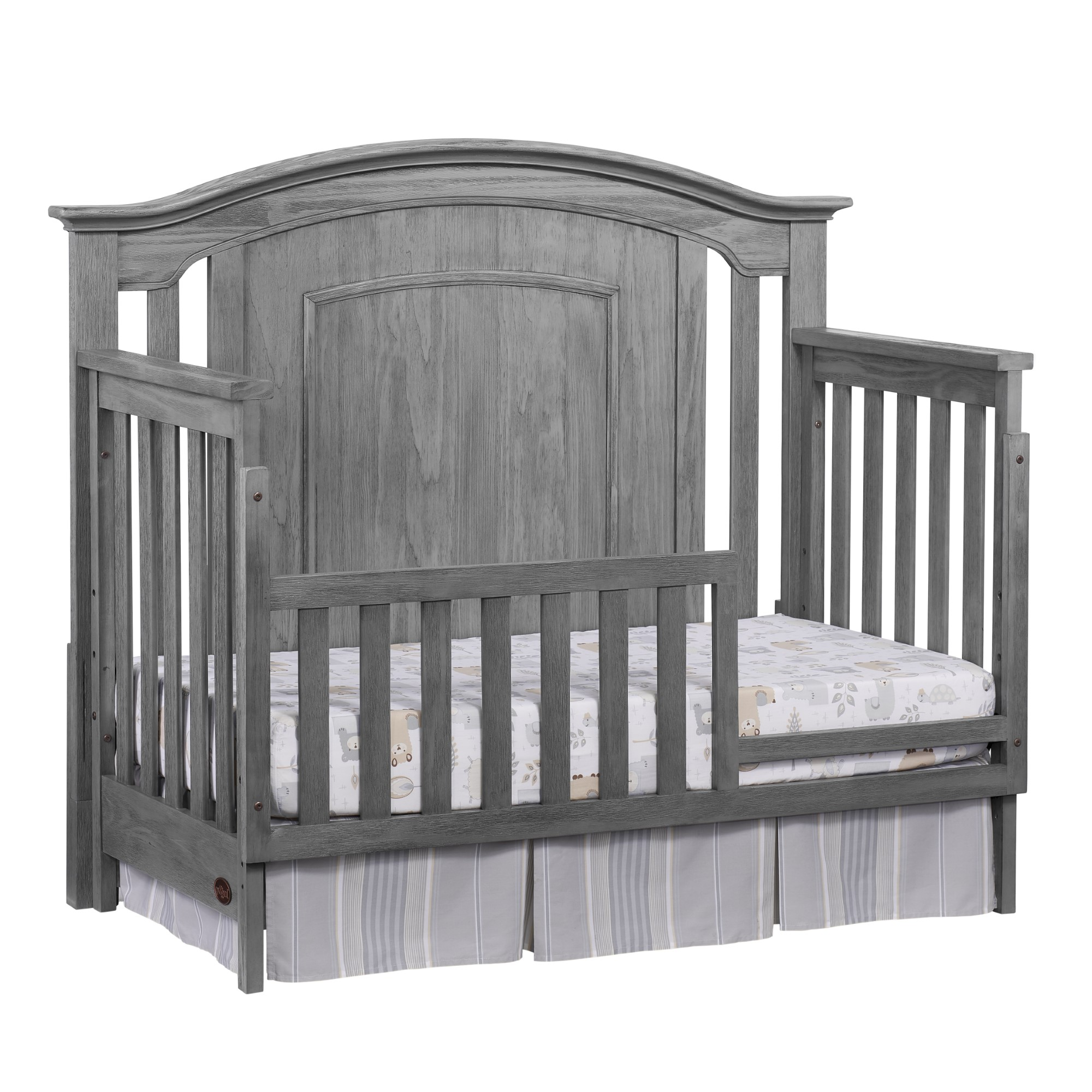 Guard Rail Willowbrook Graphite Gray Oxford Baby Amp Kids