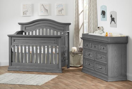 7 Drawer Dresser Piermont Rustic Stonington Gray