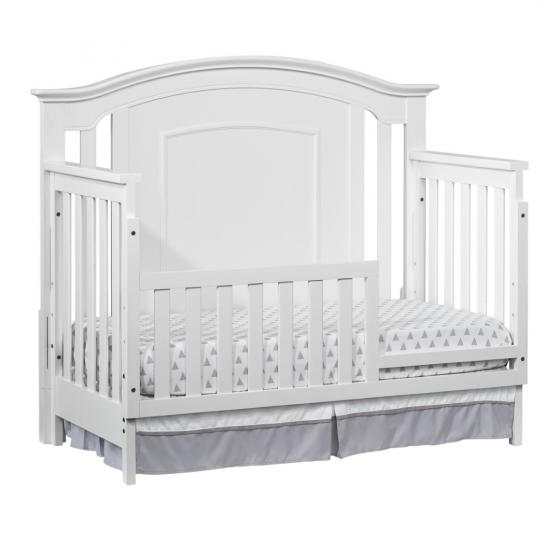 4 In 1 Convertible Crib Willowbrook White Oxford Baby