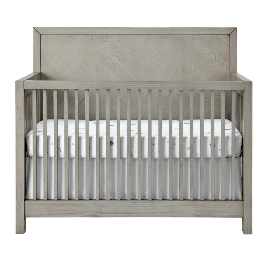 4 In 1 Convertible Crib - Phoenix Weathered Oak