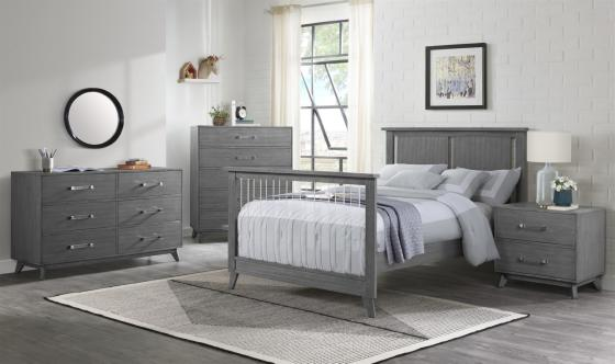 Holland Gray Full Bed RS 2
