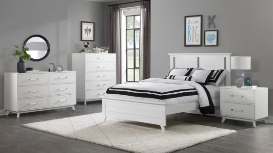 Holland White Full Bed RS 1