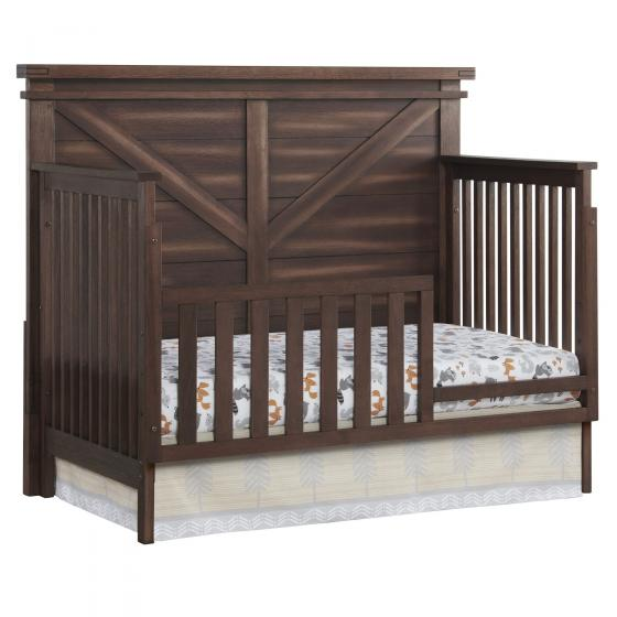 Rhinebeck Toddler Bed Angled