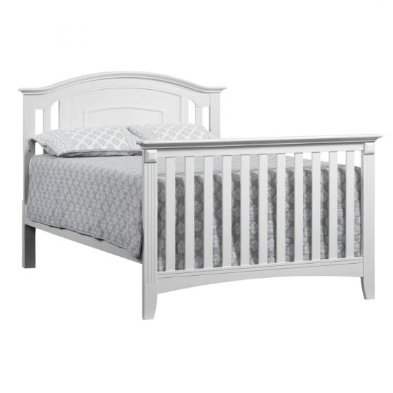 Full Bed Conversion Kit Willowbrook White Oxford Baby